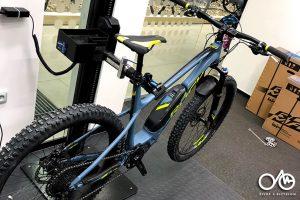 Elektrobicykel hardtail - aktualizácia softwéra pohonu Shimano Steps